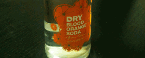 Dry Blood Orange Soda
