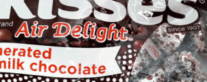 Hershey's Kisses Air Delight Aerated Milk Chocolate