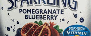 Ocean Spray Diet Sparkling Pomegranate Blueberry