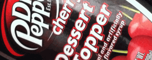 Dr. Pepper Cherry Dessert Topper Flavored Syrup