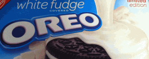 Limited Edition White Fudge Covered Oreos