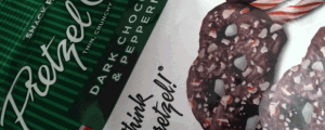 Snack Factory Dark Chocolate & Peppermint Pretzel Crisps