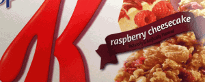 Special K Raspberry Cheesecake Bar