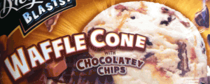 Breyers Blasts! Waffle Cone with Chocolatey Chips & Hey Who's That? It's Crazy Screaming Guy!