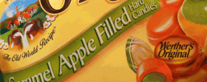 New Werther's Original Caramel Apple Filled Hard Candies & MLB Draft vs. the NFL or NBA Draft