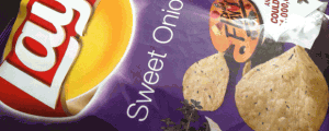 Limited Edition Lay's Sweet Onion Potato Chips & I AM ALL-IN WITH AARON RODGERS