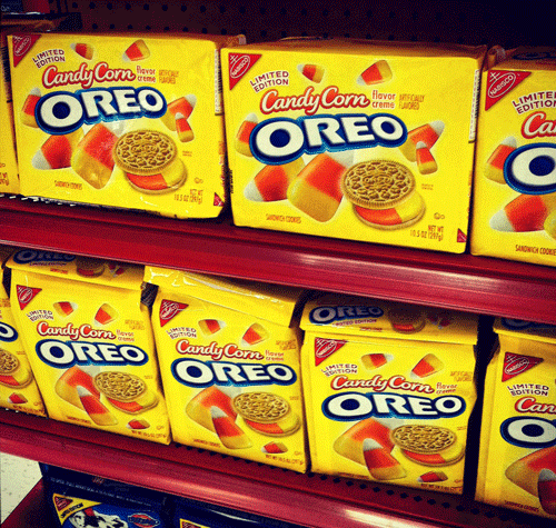 Limited Edition Candy Corn Oreos