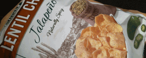 Review: Simply 7 Jalapeno Lentil Chips & Pre-Thanksgiving Thoughts