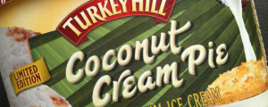 Review: Limited Edition Turkey Hill Coconut Cream Pie Ice Cream & The Winner of the Merci Chocolate / Girl Scout Cookie Crunch Bar Contest Is...