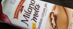 Review: New Pepperidge Farm Boston Cream Pie Milano Melts & I AM DONE WITH WORDS WITH FRIENDS