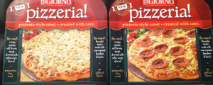 Review: New DiGiorno's Pizzeria! Quattro Formaggi/Four Cheese Pizza & Primo Pepperoni Pizza & Can't-Look-Away-TV & Remembering Pat Summerall