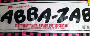 Review: Abba-Zaba Peanut Butter & Jelly Taffy & Man Sues Apple for Porn Addiction.  YES.