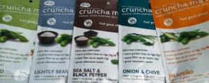 Review (x5): CRUNCHA MA-ME! (Naked, Lightly Seasoned, Sea Salt & Black Pepper, Onion & Chive, Jalapeño) & KNOCK IT OFF WITH THE FAKE-HURRY-UP, MORONS