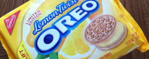 Review: Limited Edition Lemon Twist Oreos & MY FRIEND HELPED MAKE MALARIA VACCINE