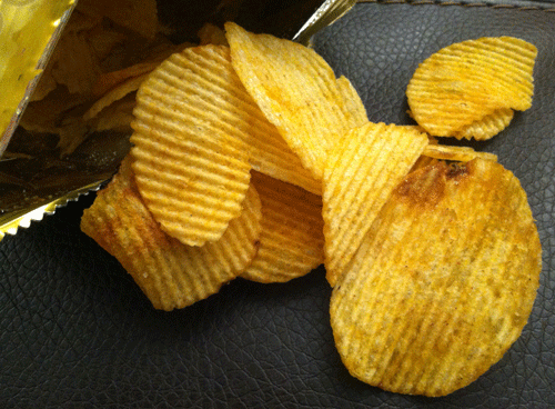 Lay's (Thailand) Hot Chili Squid Potato Chips