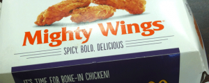 Review: McDonald's Mighty Wings & A Look Ahead This Week (And Next)