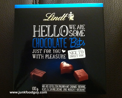 Lindt Hello We Are Some Chocolate Bits