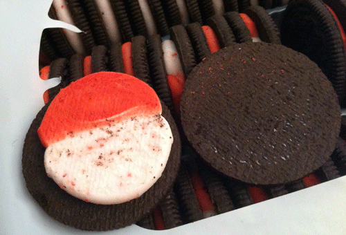 Limited Edition Candy Cane Oreos