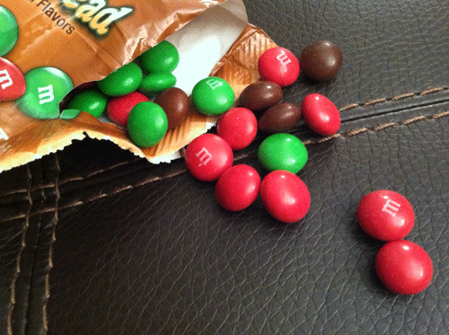 Gingerbread M&Ms