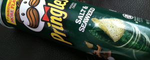 Review: Salt & Seaweed Pringles & How *I* Like to Celebrate Birthdays
