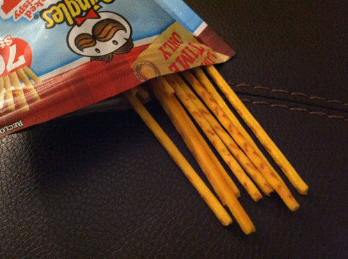 Limited Time Only Pringles Sugar Cookie Stix