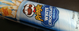 Review: White Chocolate Pringles, The Nosh Show Episode 17, & Why Am I So Positive?