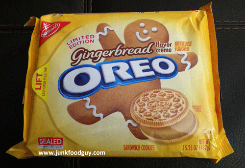 Review: Limited Edition Gingerbread Oreos & FINALLY OREO ...