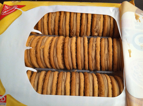 Limited Edition Gingerbread Oreos