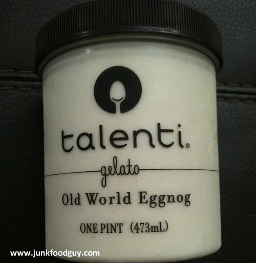 Talenti Old World Egg Nog Gelato