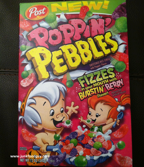 Post Poppin' Pebbles Cereal