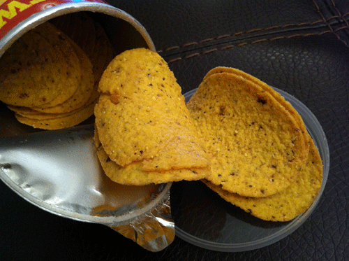 New Southwestern Ranch Pringles Tortillas