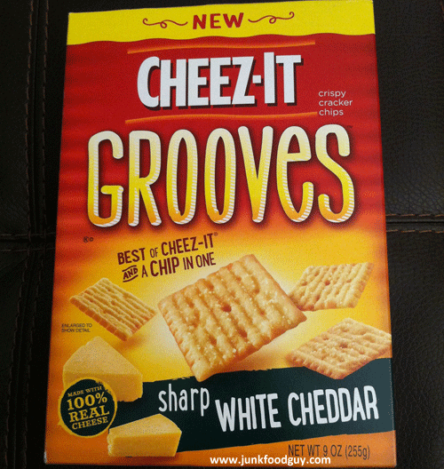 New Cheez-It Sharp White Cheddar Grooves
