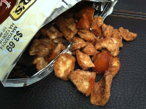 New Snyder's of Hanover Cinnamon & Sugar Sweet and Salty Pretzel Pieces