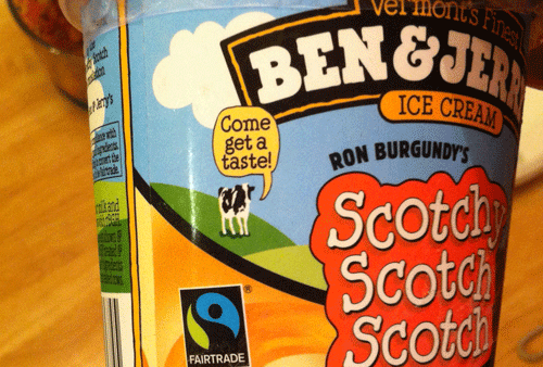 Limited Batch Ben & Jerry's Scotchy Scotch Scotch Ice Cream