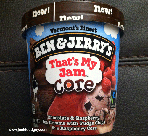 New Ben & Jerry's That's My Jam Core Ice Cream