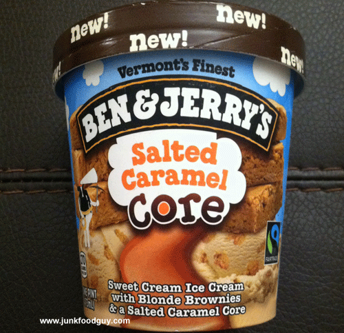 New Ben & Jerry's Salted Caramel Core Ice Cream