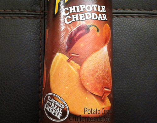 New Chipotle Cheddar Pringles