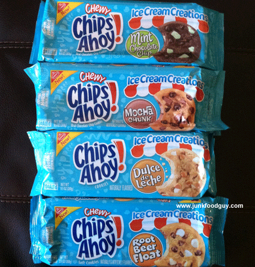 New Chips Ahoy! Ice Cream Creations