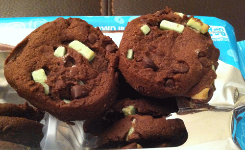 New Chips Ahoy! Ice Cream Creations Mint Chocolate Chip Cookies