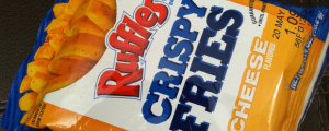 Review: Ruffles Cheese Crispy Fries & YOU Tell ME Who's Going to Win an Oscar