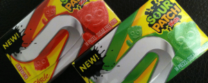Review: New Sour Patch Kids Stride Gum (Redberry, Lime) & DUNKER OF THE NIGHT (meh)