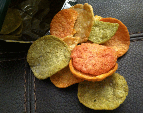 New Hint of Olive Oil Veggie Pop Chips