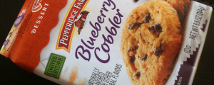 Review: Pepperidge Farm Blueberry Cobbler Soft Dessert Cookies & My Final Four