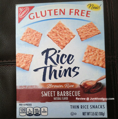 New Sweet Barbeque Rice Thins