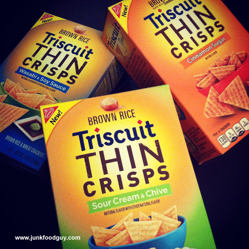 New Brown Rice Triscuit Thin Crisps