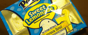 Review: Sweet Lemonade Peeps & So, April Fools Day.....Yeah.....
