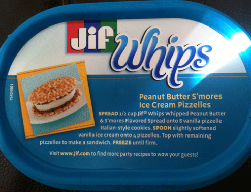 Limited Edition S'mores Jif Whips