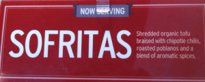 Review: New Chipotle Sofritas & Welcome Back, March (Give Me Back My Hour)