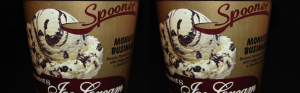 Review: Stewart's Monkey Business Ice Cream (via Nick from OnSecondScoop.com) & Going Dark for 24 Hours, aka, Being in Trial