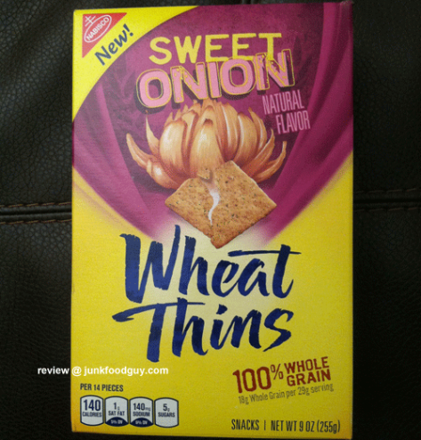 New Sweet Onion Wheat Thins